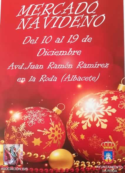 Mercado navideño en La Roda, Albacete