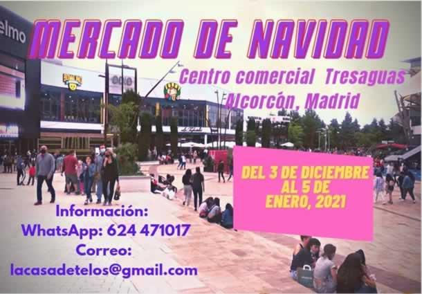 Mercado de navidad en C.C. TresAguas